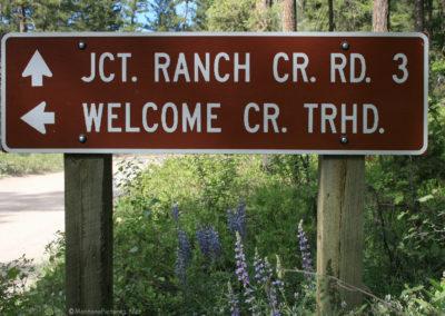 61216 rock creek welcome creek 3116 sign_MontanaPictures_Net