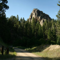 Lost: Forty-foot tall climbing rocks.  Last seen in the Humbug Spires Wilderness Study Area