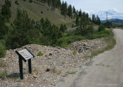62313 garnet 7541 bearmouth dredge sign_MontanaPictures_Net