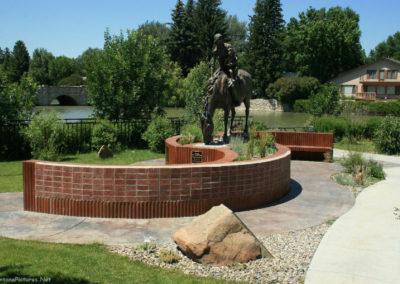 71008 liv park horse 7152 statue_MontanaPictures_Net