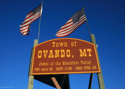 73011 ovando 1669 flag sign_MontanaPictures_Net