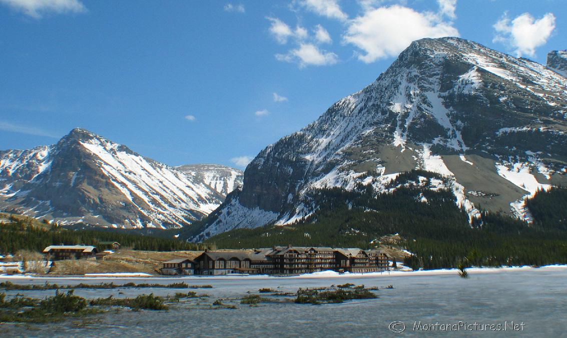 Glacier National Park Picture Tours Many Glacier Hotel