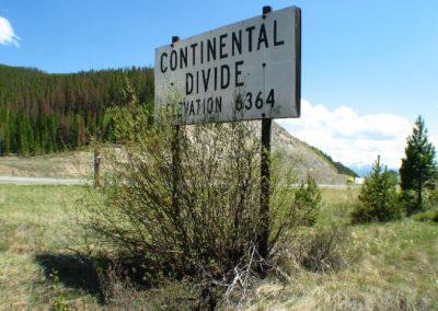 53009 butte elk park old divide 5771sign_MontanaPictures_Net
