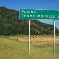 Highway 200 from Heron to Paradise, Montana