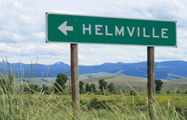 Step back in time – Helmville, Montana