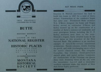 62108 Traf butte west park 8146 sign_MontanaPictures_Net