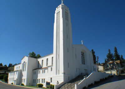 62108 Traf white church 5258 view_MontanaPictures_Net