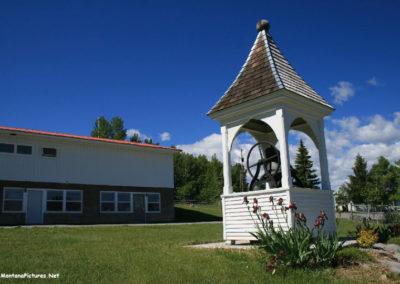 62313 helmville 7031 school bell_MontanaPictures_Net