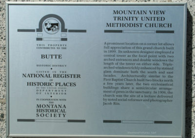 62708 Butte Methodist 8453 sign_MontanaPictures_Net