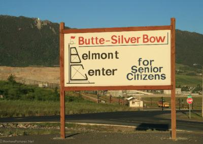 62808 BELMONT senior center 0947 sign_MontanaPictures_Net