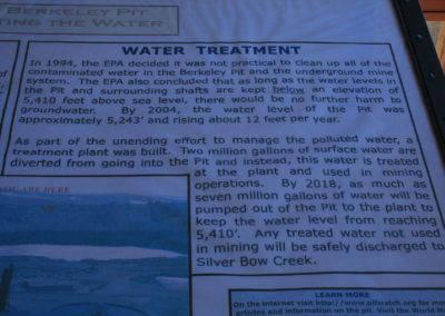 62808 Butte pit sign water Treatment 0044 single195