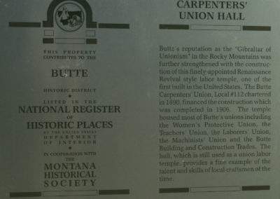 62808 butte carpenter union 0603 sign_MontanaPictures_Net