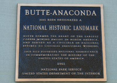 62808 butte district 0582 plaque_MontanaPictures_Net