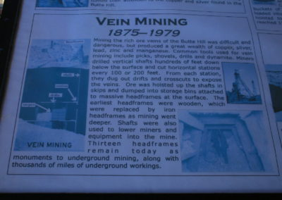 62808 butte pit sign vein mining 0062 single166