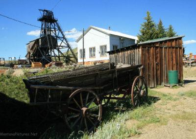 62808 museum wagon headframe 0183_MontanaPictures_Net