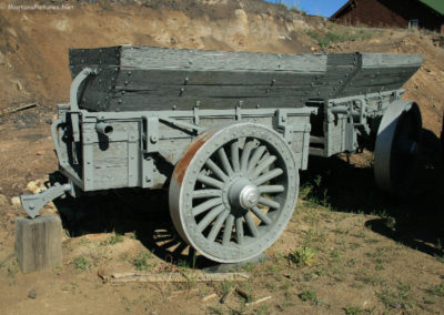 62808 museum wagon ore gray paint 0342_MontanaPictures_Net