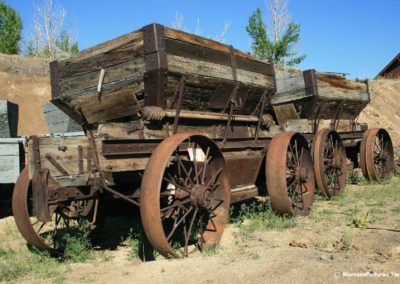 62808 museum wagon ore wagon 0344_MontanaPictures_Net