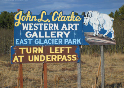 7208_50505 east glacier clarke sign_MontanaPictures_Net