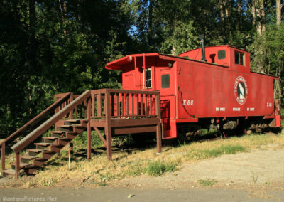 72110 troy main street pm museum 7138 caboose_MontanaPictures_Net