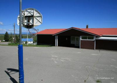 basketball_62313 helmville 7099 school front_MontanaPictures_Net