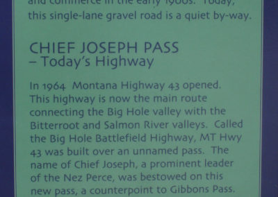 60207 sula lost trail highway43 0844 sign_MontanaPictures_Net