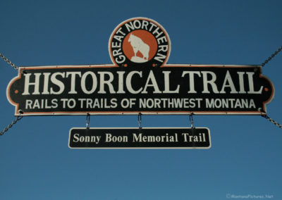 61412 somers 3012 trail sign pm_MontanaPictures_Net