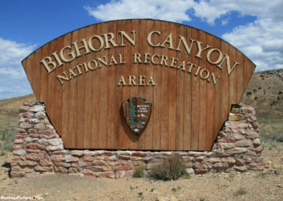 61812 bighorn canyon 5249 sign_MontanaPictures_Net