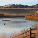 Fly Fishing the Missouri River Near Helena, Montana