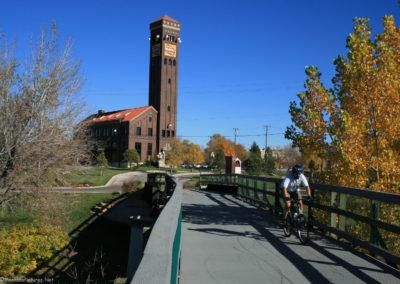 100907 gf park foot bridge 4910 bike_MontanaPictures_Net