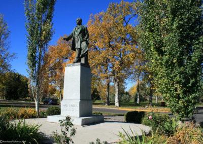 100907 gf park gibson statue 3716_MontanaPictures_Net