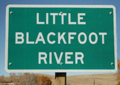 101517 garrison little blackfoot 0276 sign_MontanaPictures_Net