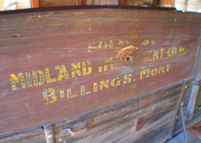 12305 bannack wagon sign billings_MontanaPictures_Net