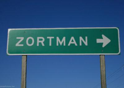 60311 zortman 2444 highway sign_MontanaPictures_Net