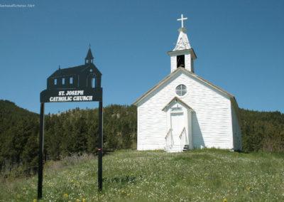 60311 zortman 2759 church_MontanaPictures_Net