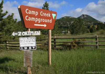 60311 zortman camp 2473 creek_MOntanaPictures_Net