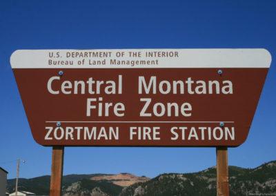 60311 zortman fire center 2876 sign_MontanaPictures_Net