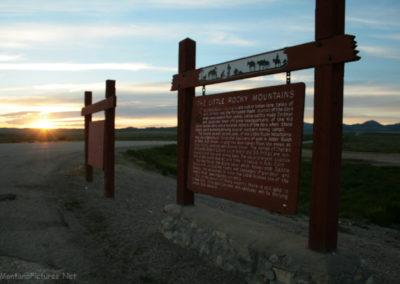 60411 belknap little rocky mtns sunset 4074 signs_MontanaPictures_Net