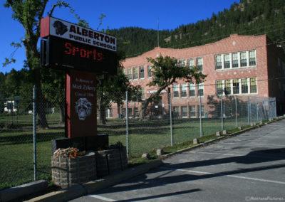 92510 alberton grade school 9506 sign_MontanaPictures_Net