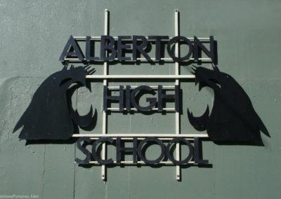92510 alberton high school 9455 sign_MontanaPictures_Net