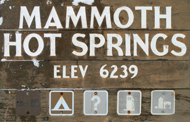 Mammoth, Montana Picture Tour