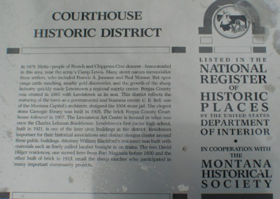 120703 lewis courthouse 6751 sign _MontanaPictures_Net