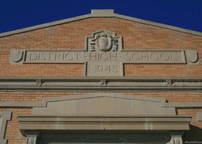 122609 augusta district 3274 school sign_MontanaPictures_Net