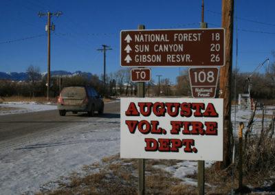 122609 augusta fire dept 3355 sign_MontanaPictures_Net