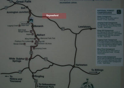 20608 raynesford map 5418_MontanaPictures_Net