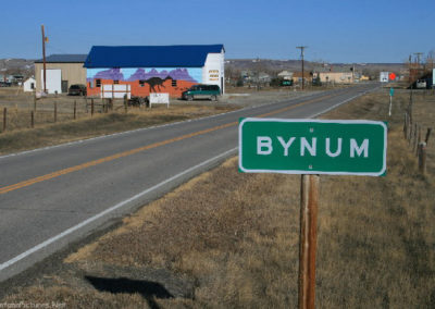 30709 bynum 4273 green sign_MontanaPictures_Net