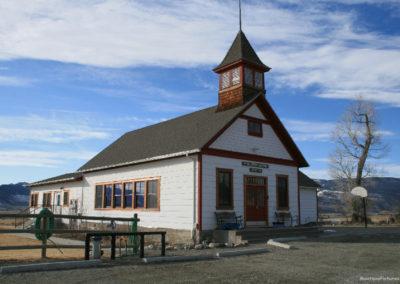 30709 emigrant 0143 pine creek school_MontanaPictures_Net