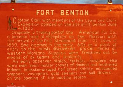 60405 ft benton hiway sign_MontanaPictures_Net