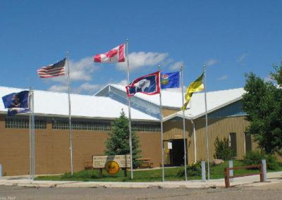 60505 ftb museum ag center flags_MontanaPictures_Net