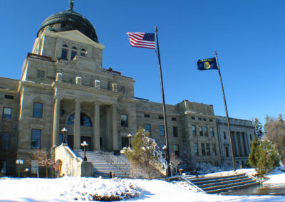 43011 helena april capital 7338 flags_MontanaPictures_Net