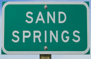Sand Springs Montana Picture Tour
